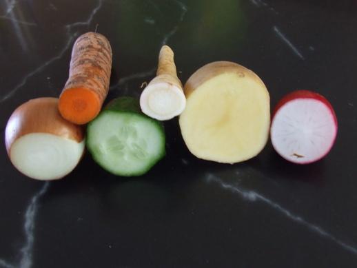 zöldségnyomda ötletek ovisoknak