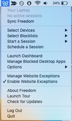 How to block email desktop apps