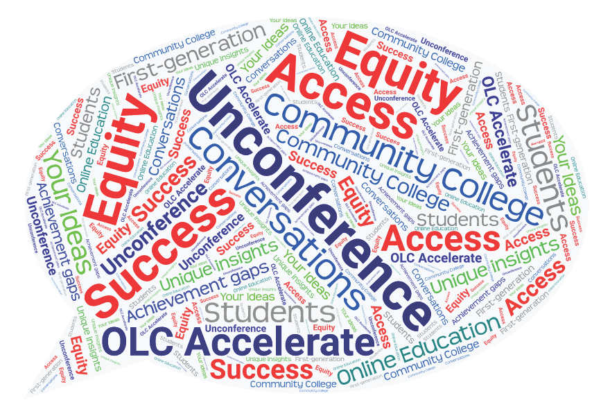 Word cloud from OLC unconference sessions