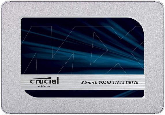 Crucial MX500 2.5 Inch Internal SSD (Best Budget SSD For Gaming)