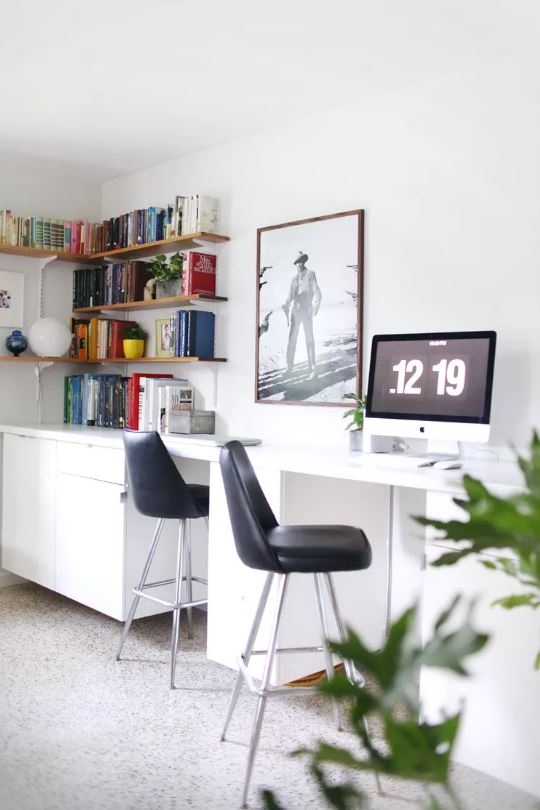 Planes de escritorio de computadora: escritorio de computadora incorporado de bricolaje