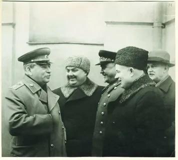 """Фото открытых источников. Сталин И.В. и его """"соратники"""""""