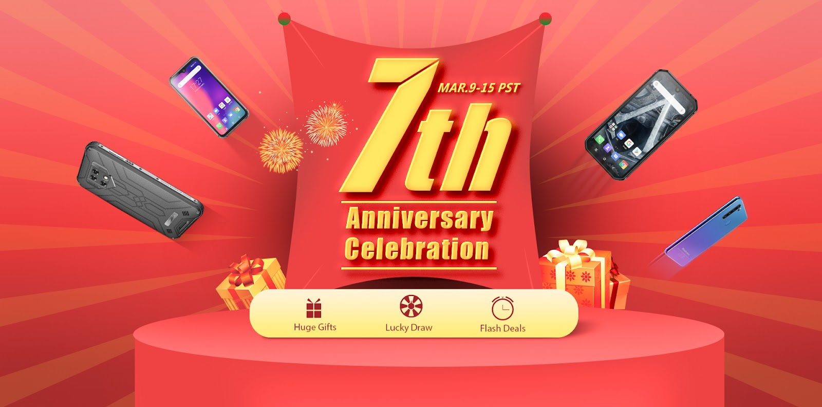 Blackview is celebrating its 7th Anniversary