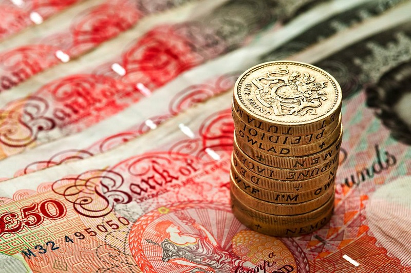 The pound will spread its wings by March