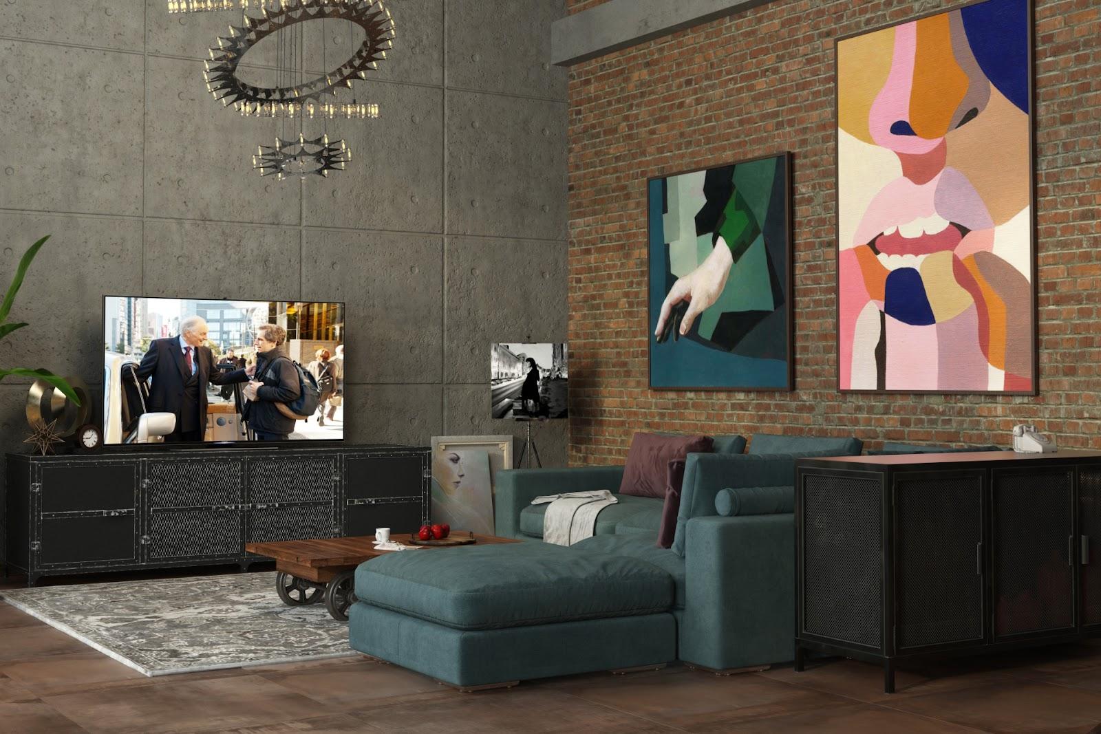 Фото дизайн комнаты бежево-коричневый