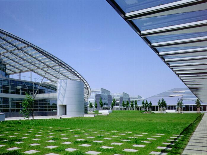 Hệ mái của 1SAR Bureau Park