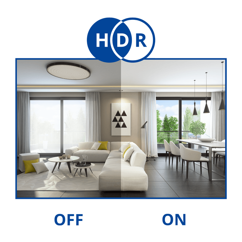 HHigh Dynamic Range example