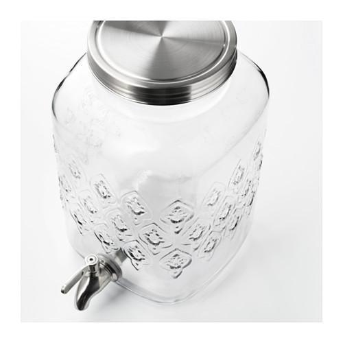 Bình đựng nước thủy tinh có vòi bảo quản dung dịch loãng hiệu quả hơn