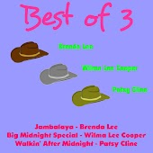 Best of 3: Brenda Lee, Wilma Lee Cooper, Patsy Cline