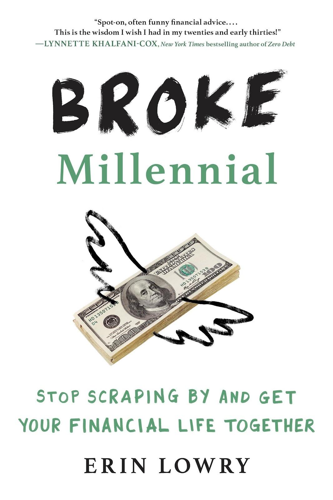 Broke Millennial Budget Book
