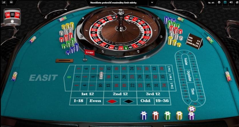 Roulette Diamonds VIP výhry