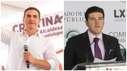 """Samuel García contra Adrián de la Garza: """"Mi vínculo con el crimen  organizado es ir en la misma boleta contigo"""" - Infobae"""