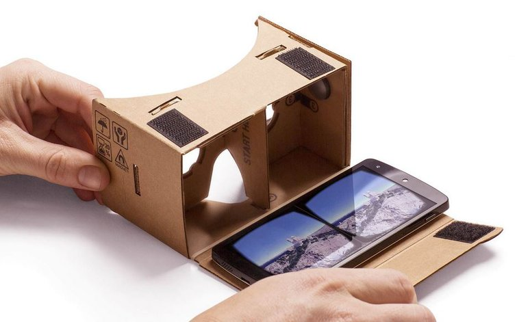 Image result for google cardboard viewer