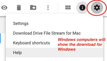 G Suite Drive File Stream   George Fox University IT Service
