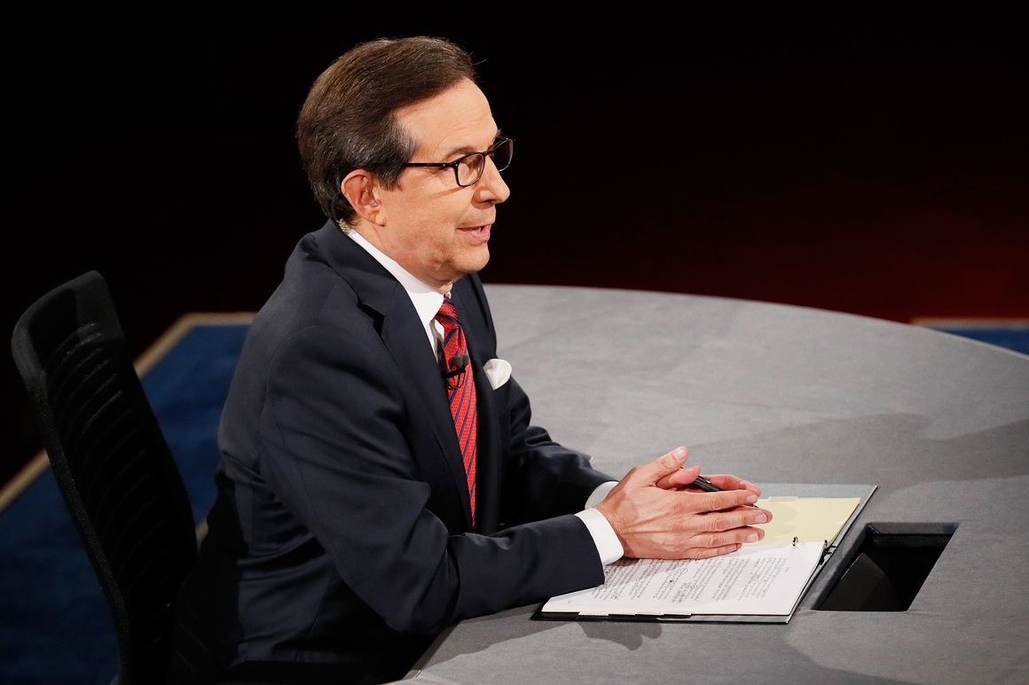 Chris Wallace - The Veteran Journalist And Anchor Of Fox News Sunday - Anchors Celebrities
