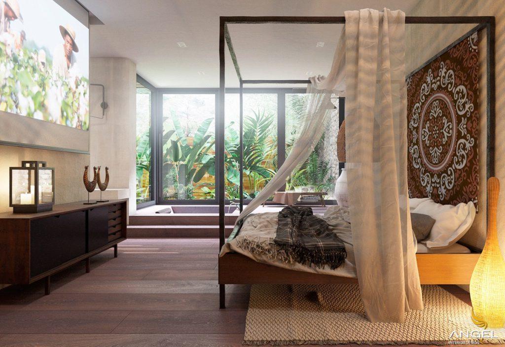 Phòng ngủ theo xu hướng thiết kế nội thất hiện đại