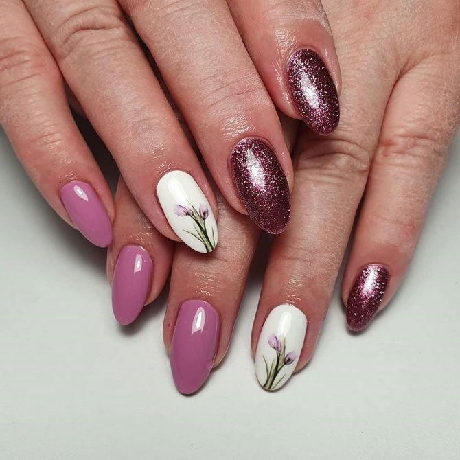manicure for short nails photo