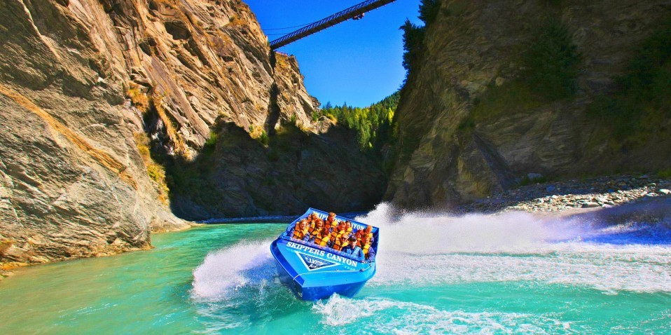 2021 Insider's Guide: The Skippers Canyon Jet speeding through the historic Skippers Canyon.