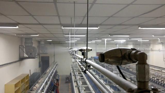 Các bạn cần đặt máy phun sương công nghiệp ở nơi khô ráo