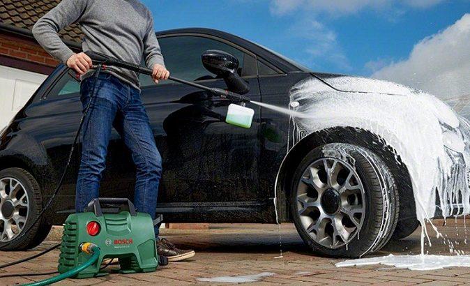 Máy rửa xe mini Bosch AQT 33-11