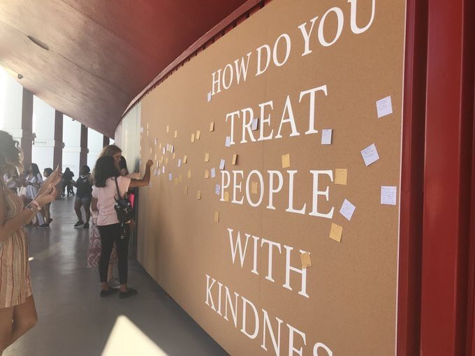 Image result for harry fan treat people with kindness
