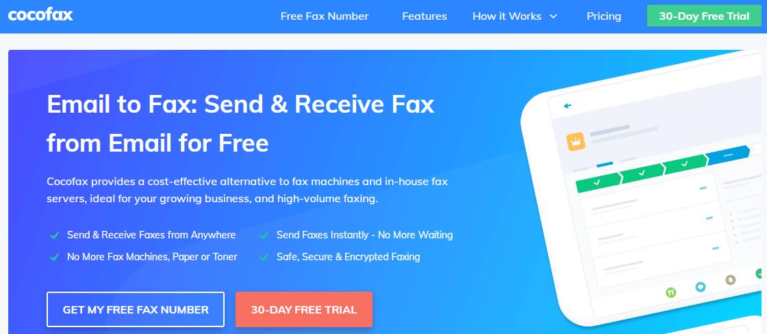 How to send a fax via email?