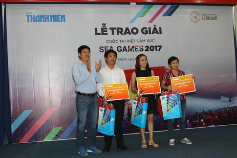 Trao giải Cuộc thi viết cảm xúc SEA Games 2017 - ảnh 13