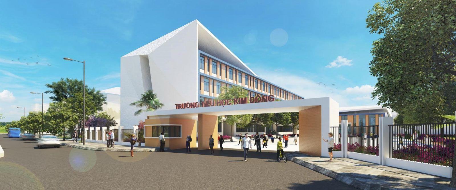 Hệ thống cơ sở vật chất tại trường mầm non trong dự án căn hộ Eco Green Sài Gòn rất hiện đại