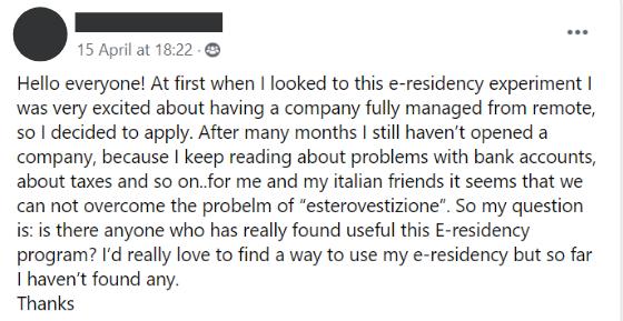Does e-Residency work?