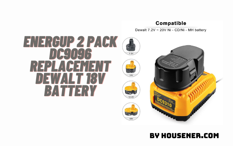 Energup 2 Pack DC9096 battery