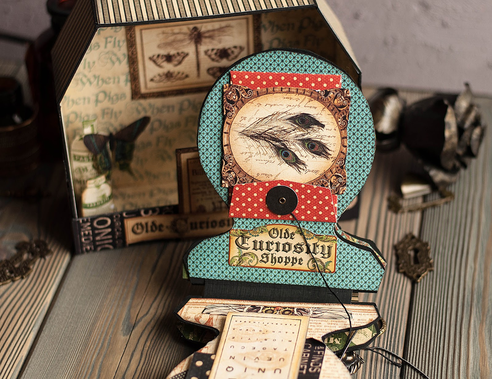Olde Curiosity Shoppe-Album and Shoppe-tutorial by Lena Astafeva-products by Graphic 45-40.jpg