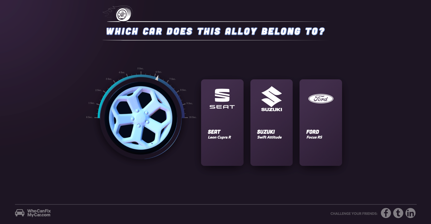 Example of awesome interactive content for the Automotive sector - Evolved Search