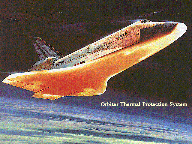 Space Shuttle atmosphere