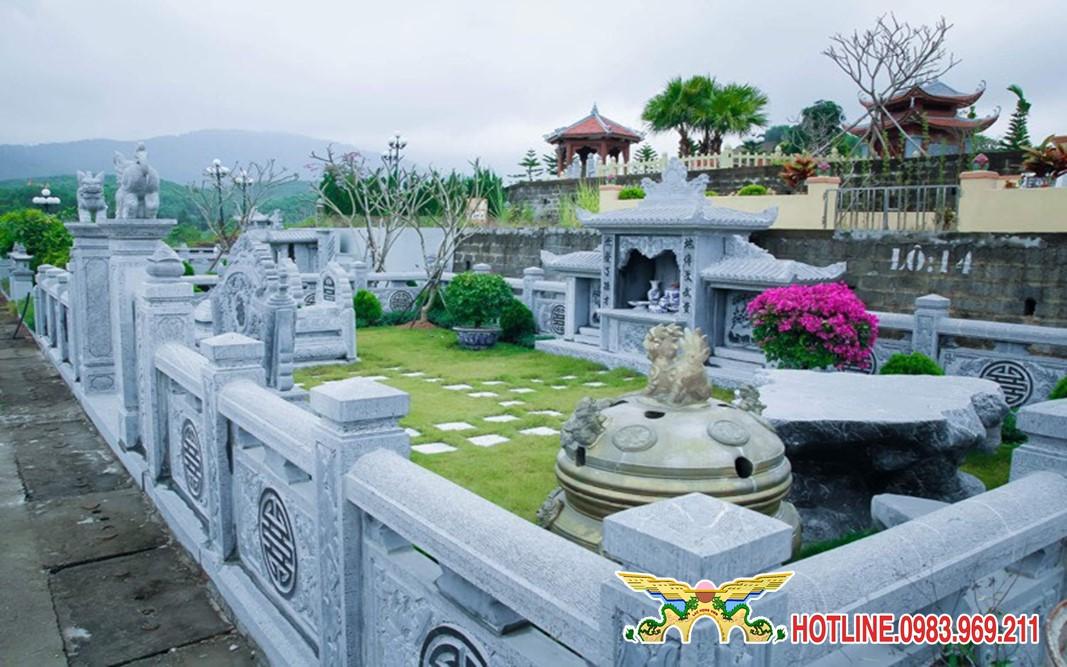 Chọn đất xây mộ tại khu mộ gia tộc Lạc Hồng Viên