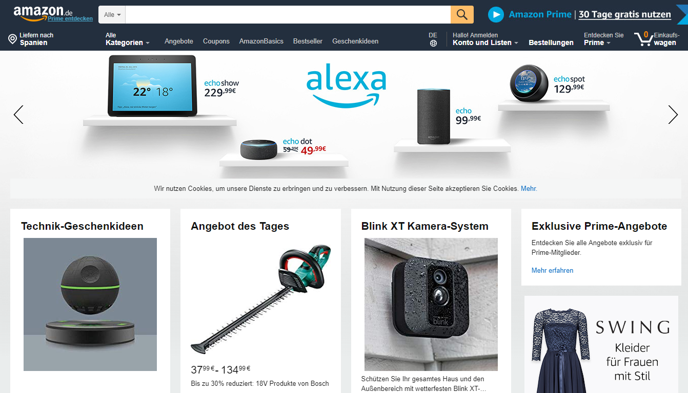 Amazon: one of the best marketplaces in Germany