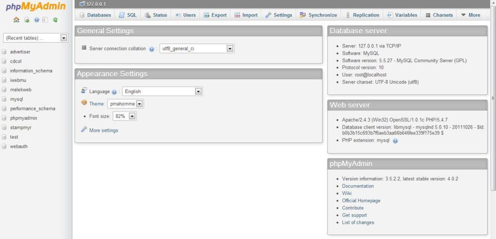 cara membuat database di xampp localhost phpmyadmin