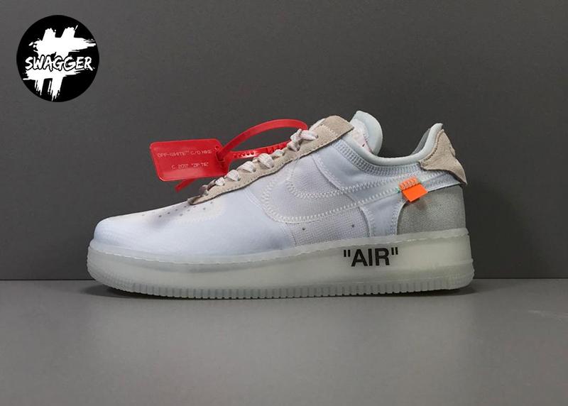 Ngắm Nike Air Force 1 Off White Pk God Factory bạn có cảm thấy chúng giống với chiếc chuyên cơ hay không?