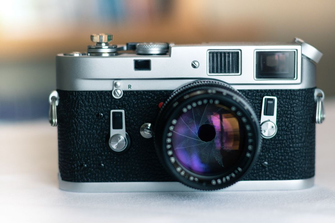 Opening a photographic camera