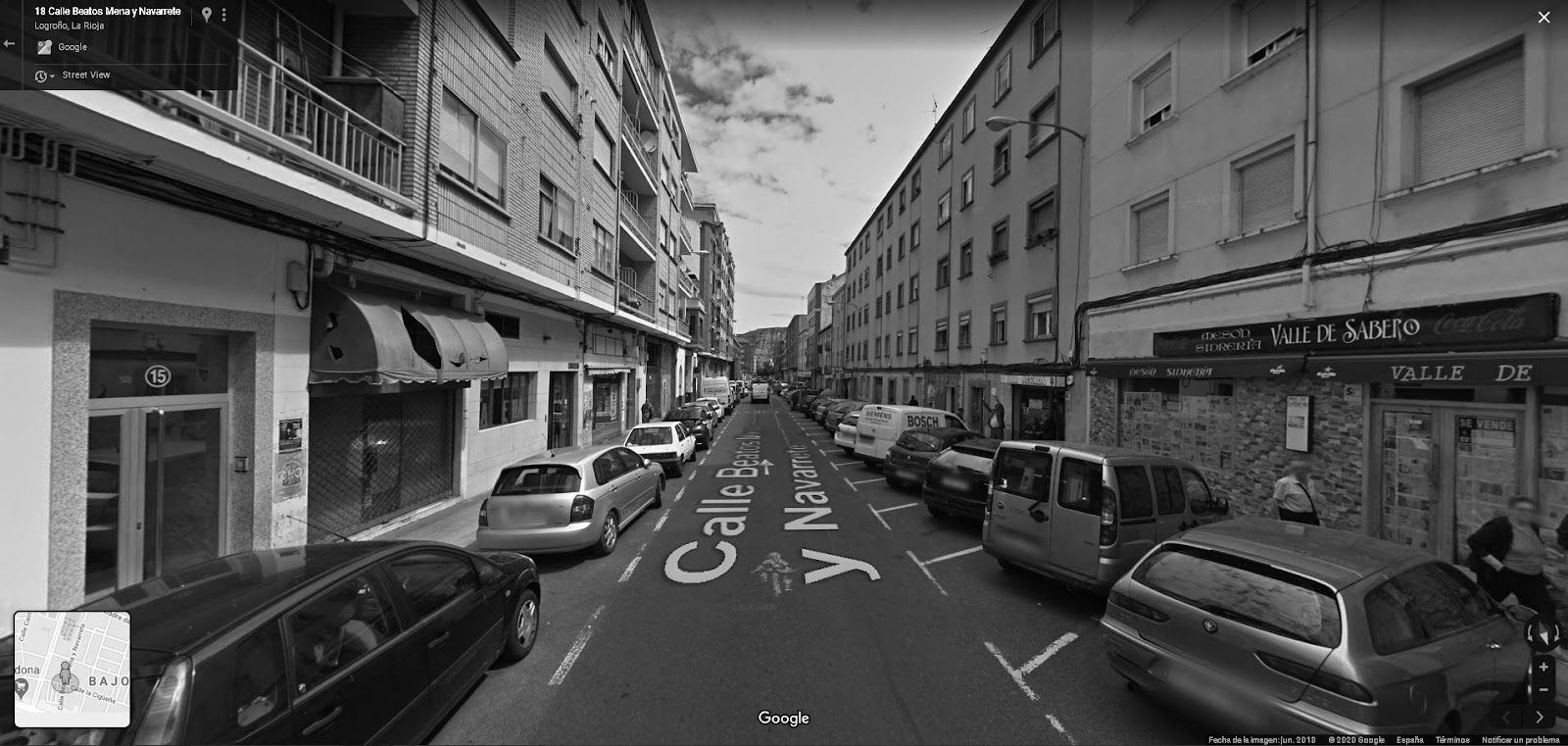 Fragmentos de un paseo virtual. 2ªparada: Parking San Prudencio