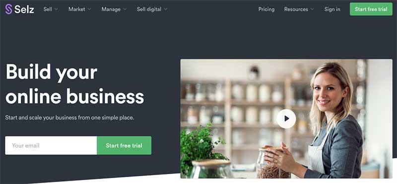 Selz Homepage