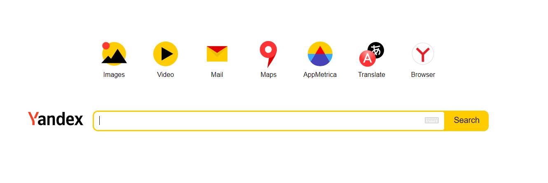 Screenshot of Yandex - Search Engine
