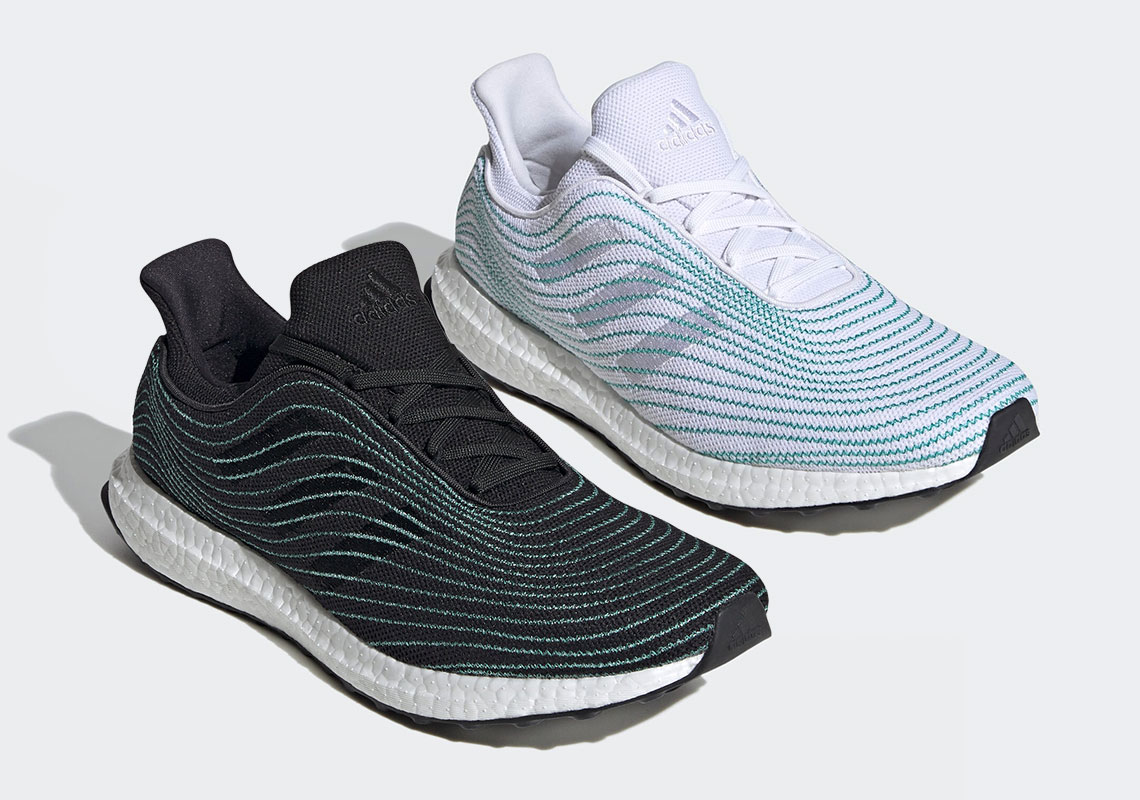 Parley x adidas Ultra Boost DNA White & Black