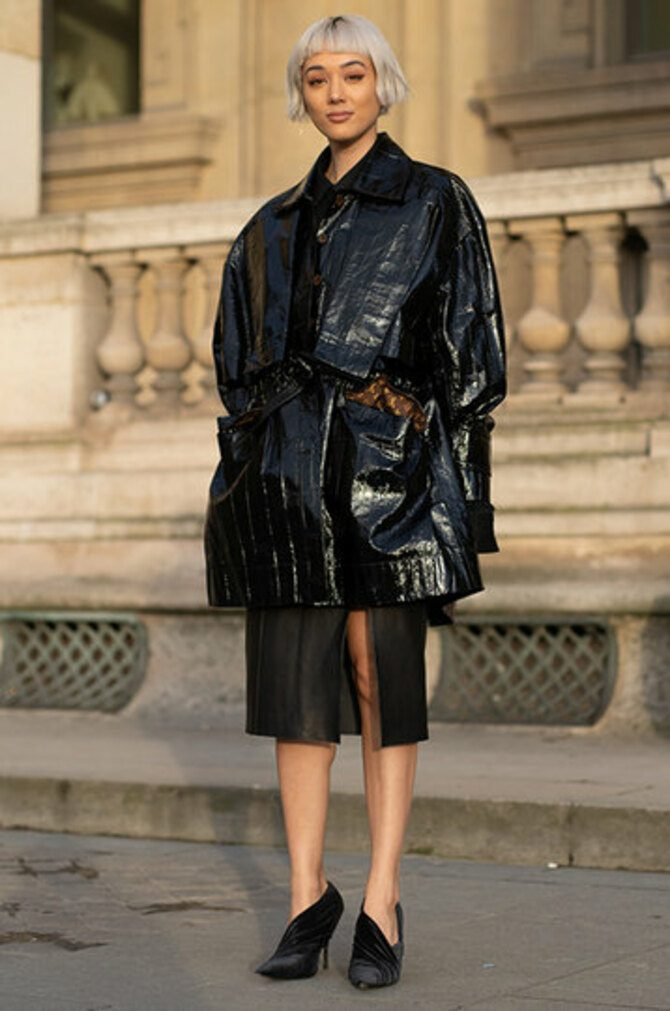 Leather raincoats 8