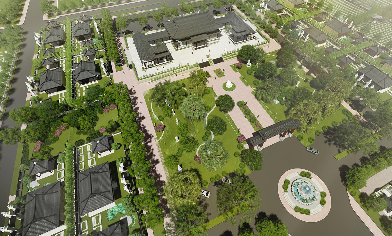 Đầu tư đất nghĩa trang đẹp tại công viên Vĩnh Hằng Long Thành
