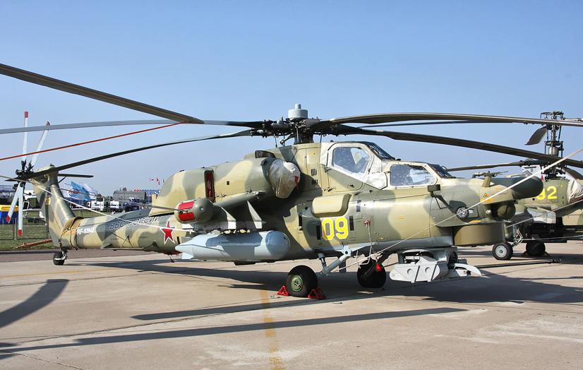 Російський вертоліт Мі-28Н здатний не тільки завдавати несподівані удари по противнику, а й вести повітряну розвідку, забезпечувати цілевказівки або коригування з повітря