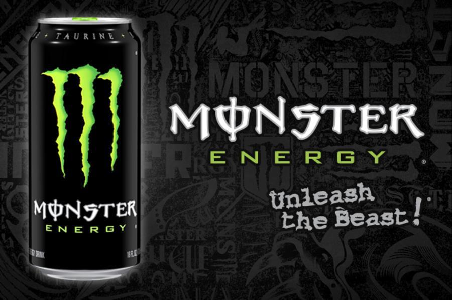 Reclame , Het belangrijkste bestanddeel van Monster Energ...