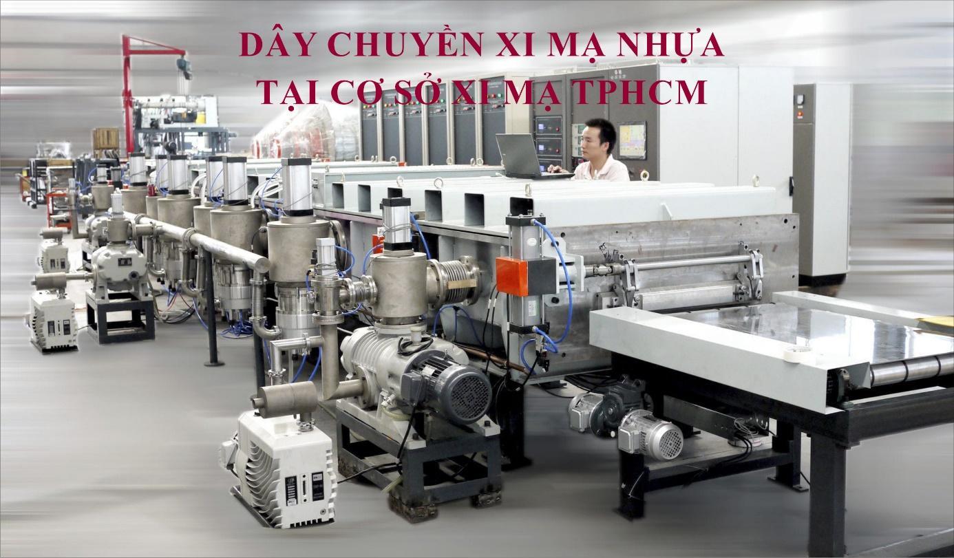 Xi mạ nhựa tại cơ sở sản xuất