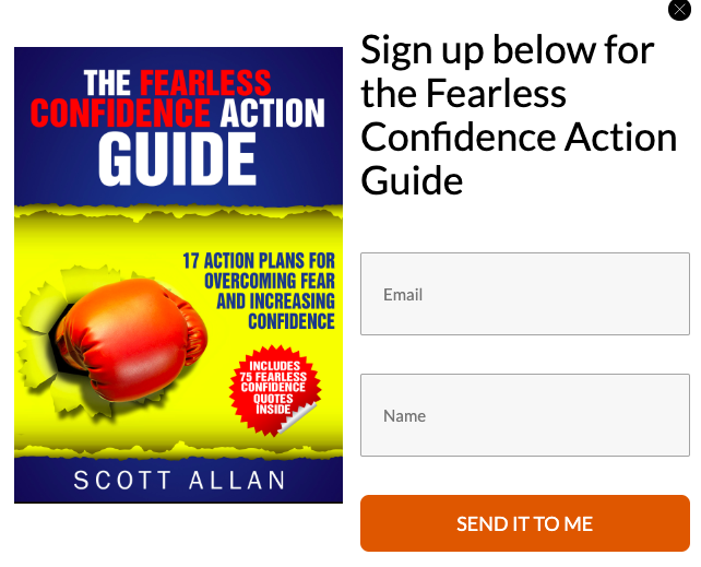newsletter for scott allan book