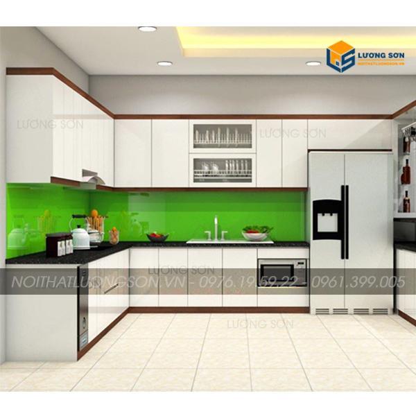 Tủ bếp hiện đại BT03