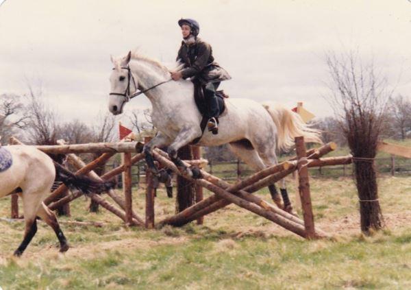 Маша и конь Янки в Виндзорском парке